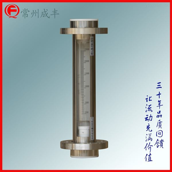 氮气玻璃转子流量计成丰仪表厂家直销选型