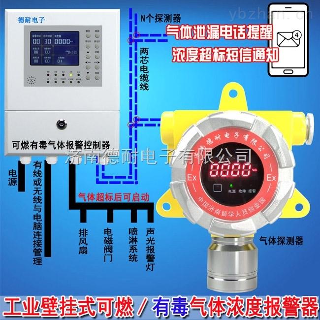工業用液化氣檢測報警器,毒性氣體報警器手機云監控