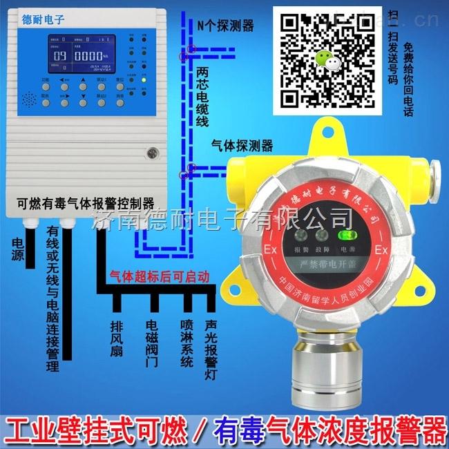 液化气泄漏报警器,点型可燃气体探测器云物联监控