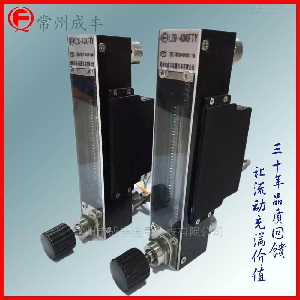 带调节阀测量玻璃转子流量计DK800