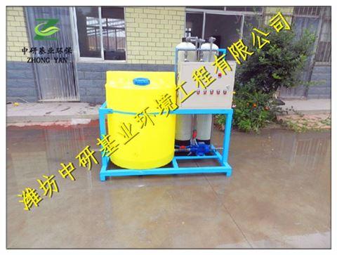红河市加药装置污水处理工艺