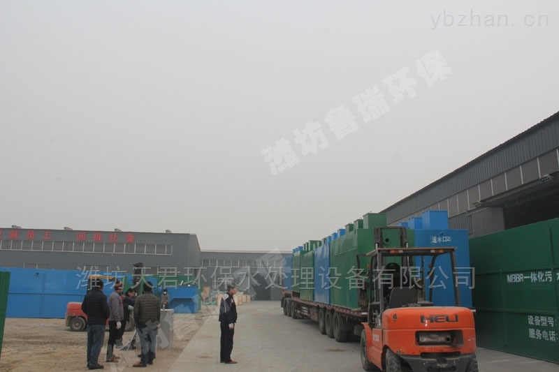 淄博地区一体化污水处理设备功率