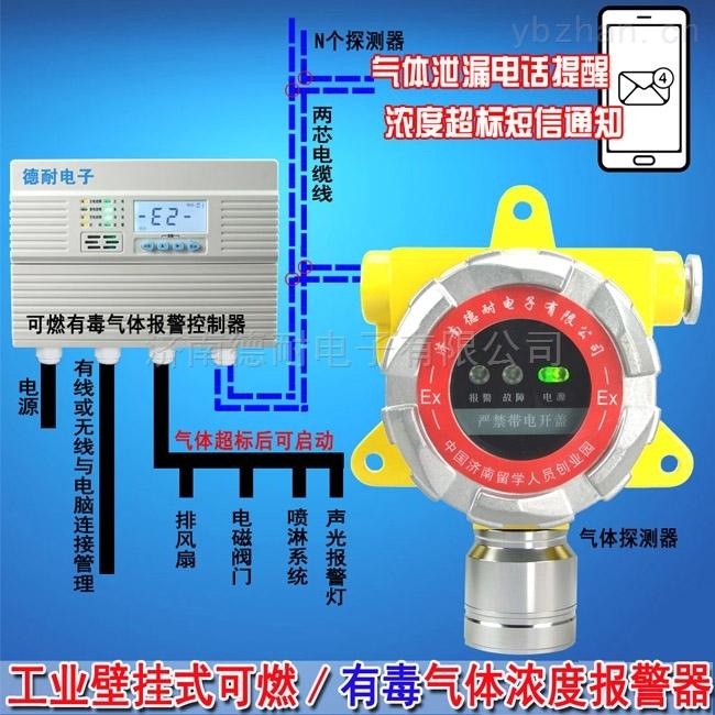 壁掛式氫氣檢測報警器,氣體報警儀安裝價格