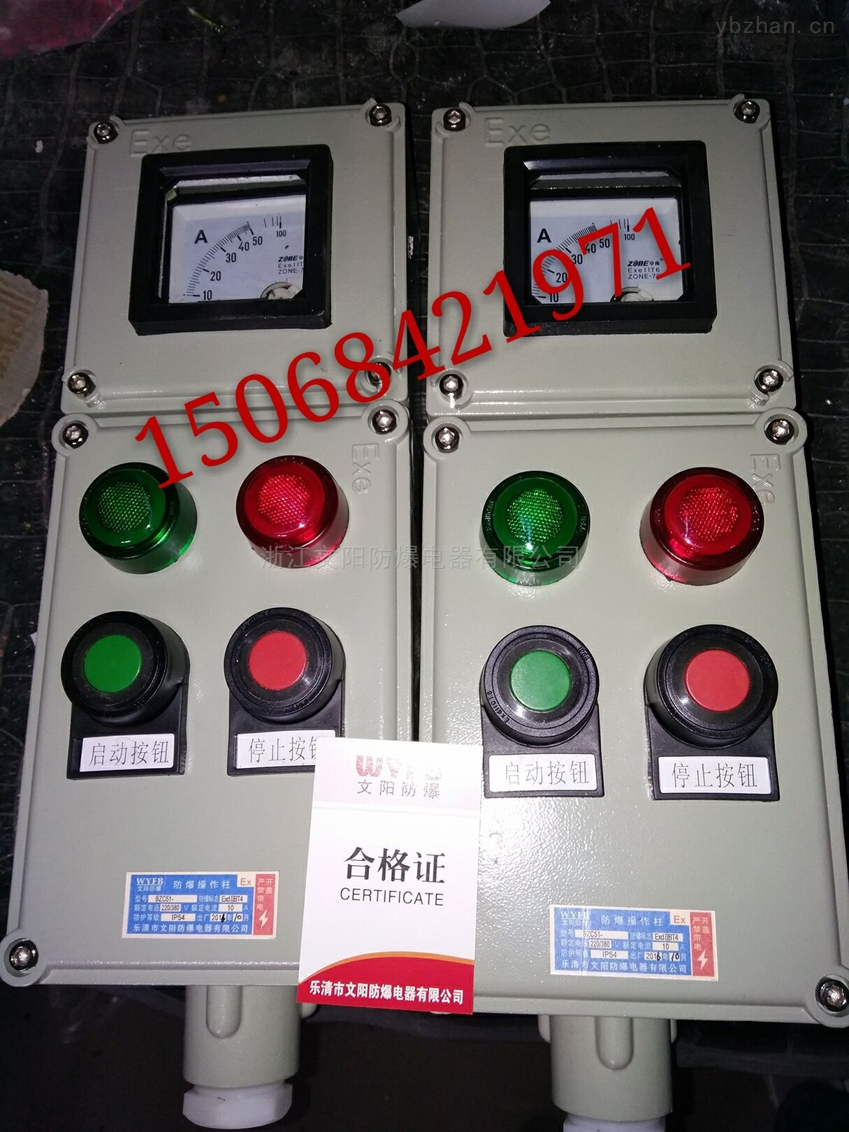 BZC81-A2B1L防爆操作柱 ExdIIBT4