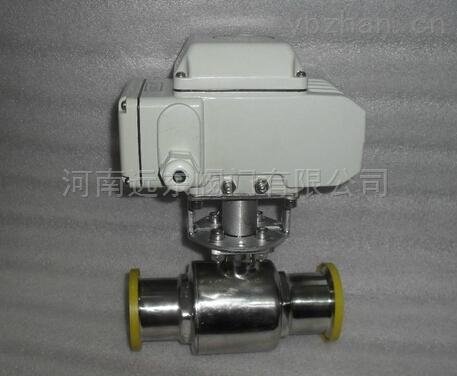 河南閥門廠電動衛生級快裝球閥Q981F