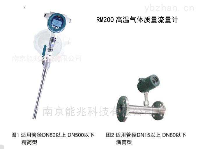 RM200-RM200系列高精度耐高溫熱式氣體質量流量計