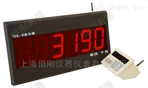 大屏幕无线控制地磅显示器