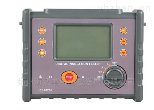 ES3025E數字式高壓絕緣電阻表
