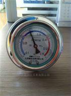 不銹鋼耐震真空壓力表
