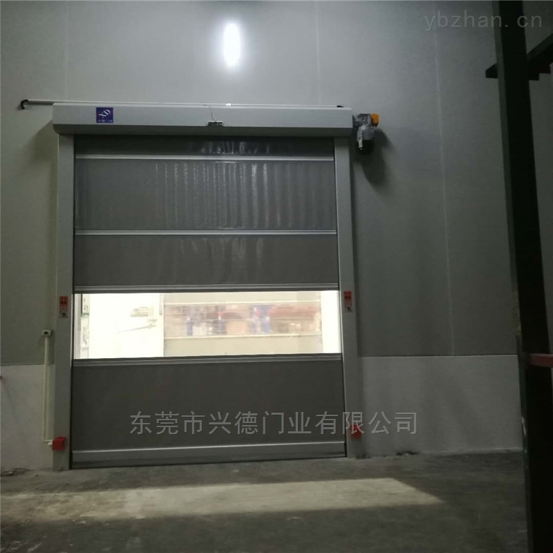 冷藏环境隔冷热型高速门|隔离高速卷门