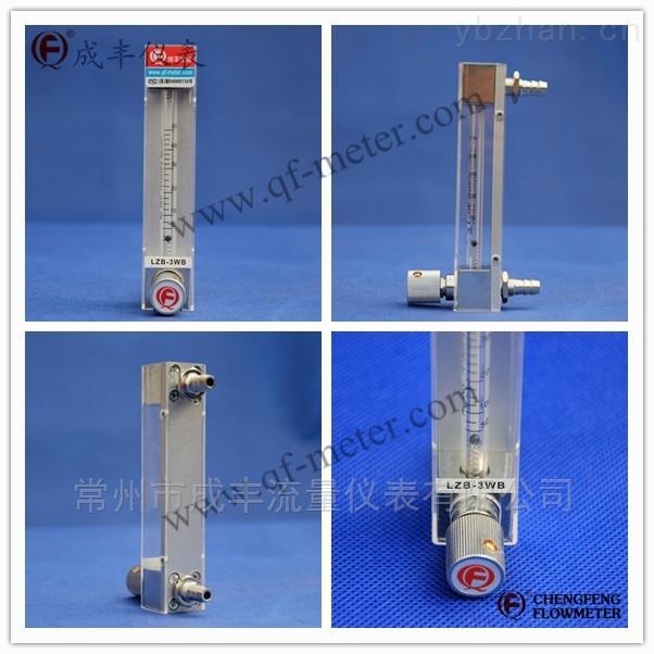 专业定制特殊流量口径较小的玻璃转子流量计