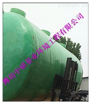 白山济源屠宰污水一体化处理设备