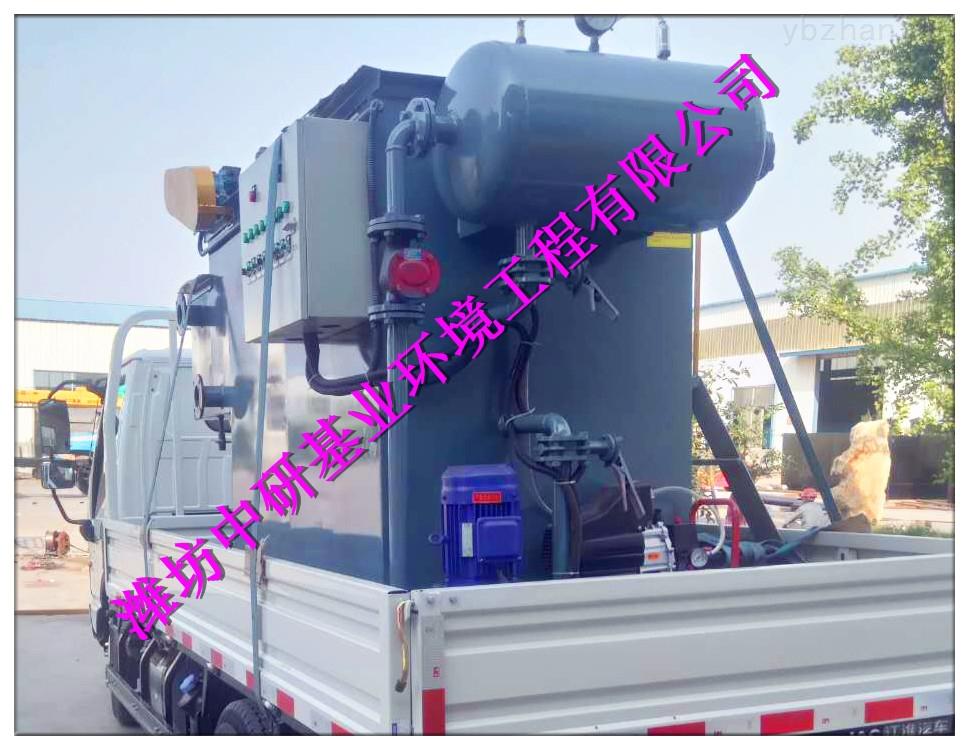 隨州市溶氣氣浮機設備處理工藝