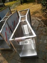 B=76生产不锈钢巴歇尔流量槽厂家