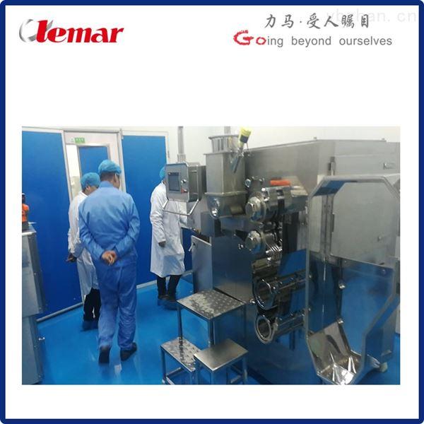 中药配方颗粒剂水平进料方式的干法制粒机