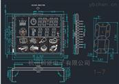 电烤箱电蒸炉用LED数码管显示屏