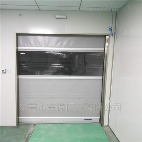 冷藏库快速卷帘门|pvc透明快速门|工业卷门