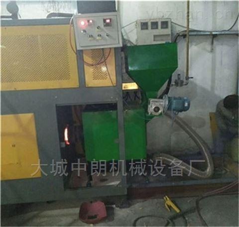 湖北省襄樊市全面改造生物质木质压块熔铝炉