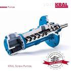 kral磁耦合密封KF160系列三螺杆泵