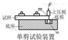 圆柱形和冲孔板状试样抗剪切性能检验仪30吨