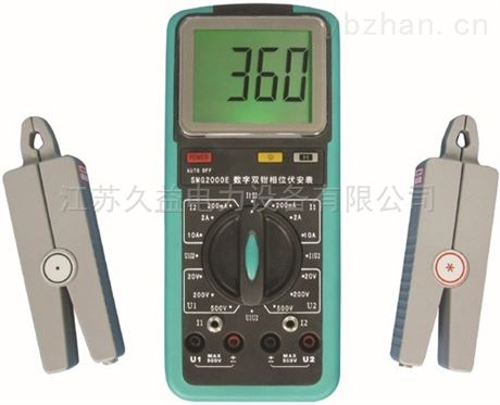 三相相位伏安表 電力測試儀