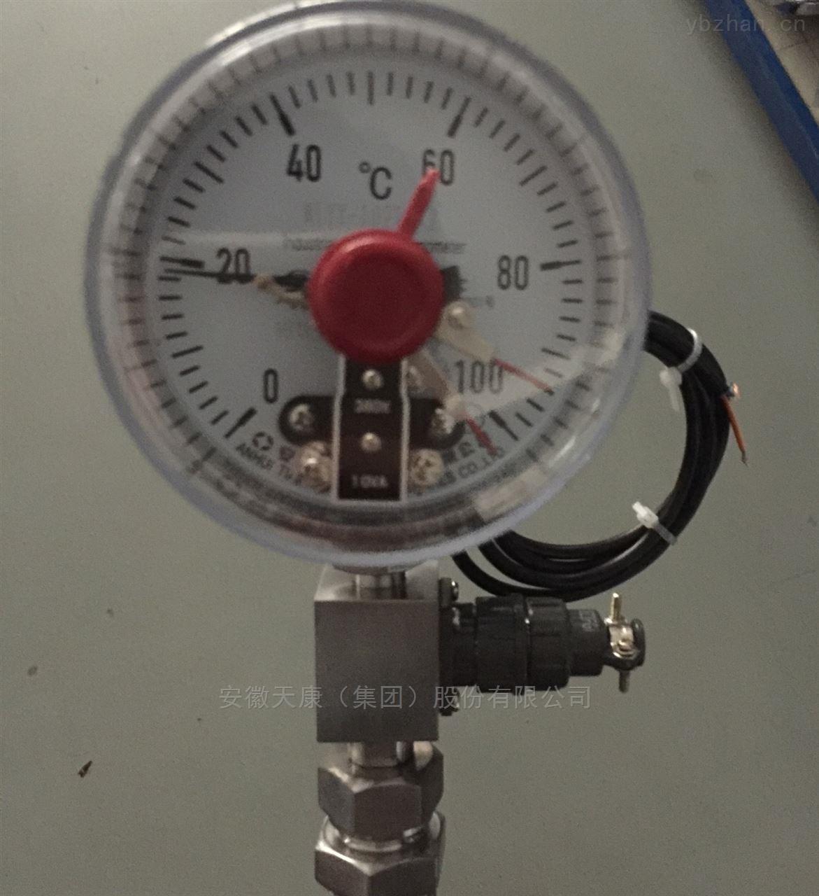 天康热电阻双金属温度计