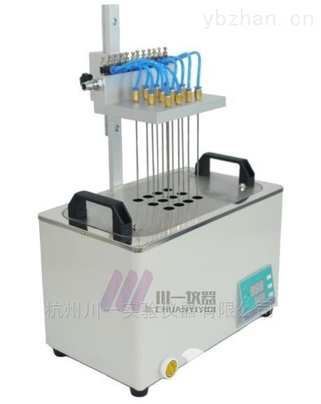 方形水浴氮吹仪CY-DCY-12SL全自动纯水浓缩