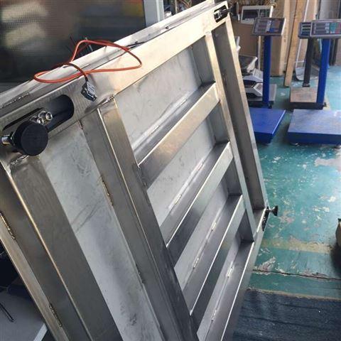 保衡网控自动报警地磅,5吨检重报警磅秤