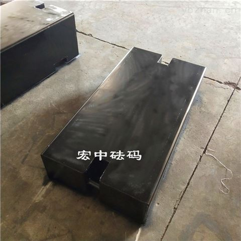河北吊车配重1000kg砝码 1吨铸铁砝码价格