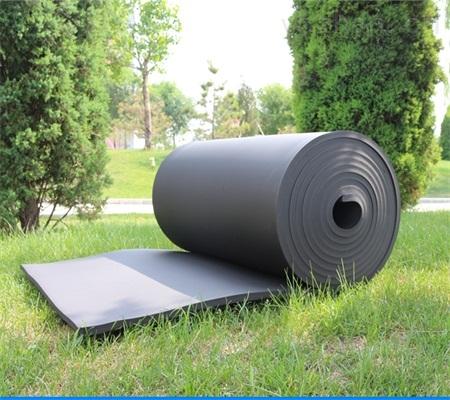 橡塑板廠家供貨橡塑保溫材料