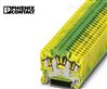 黄绿色接地端子STS 2,5-QUATTRO-PE