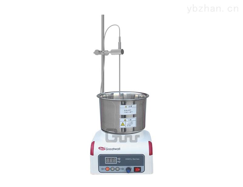 1L集热式恒温磁力搅拌反应浴,Z大放500ml烧瓶,Z高到200度