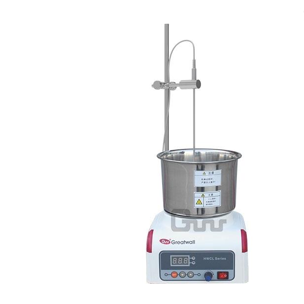 多头数显集热式恒温磁力搅拌浴HWCL-1价格