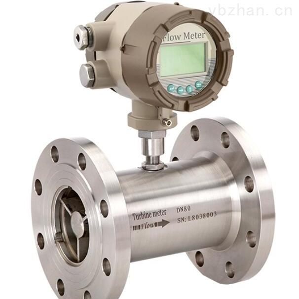 LWS卫生型液体涡轮流量计原理