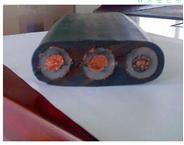 YFFB-J3*25带钢丝抗拉扁电缆