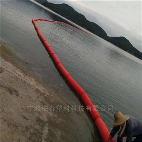 夹网穿绳拦污浮筒