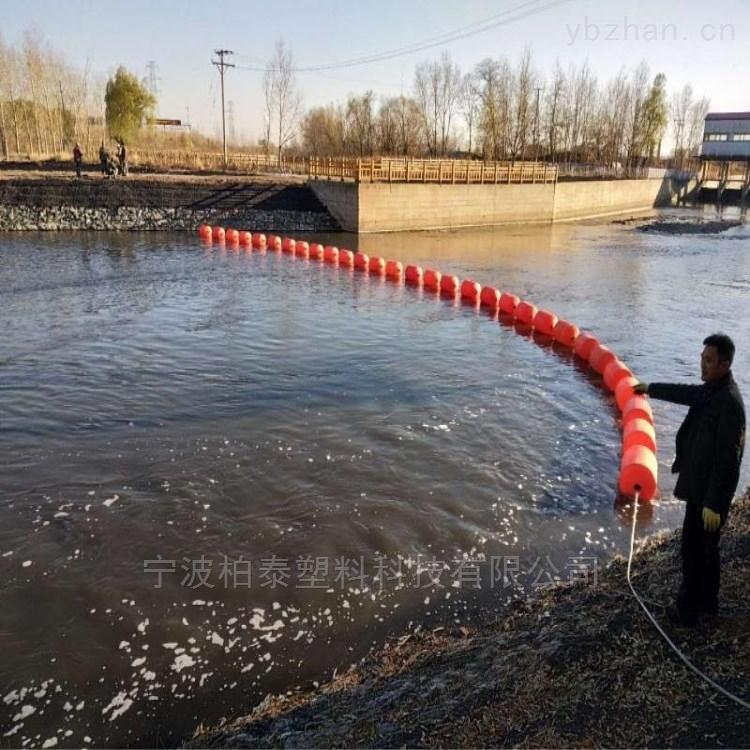 河道拦截浮体式拦污栅