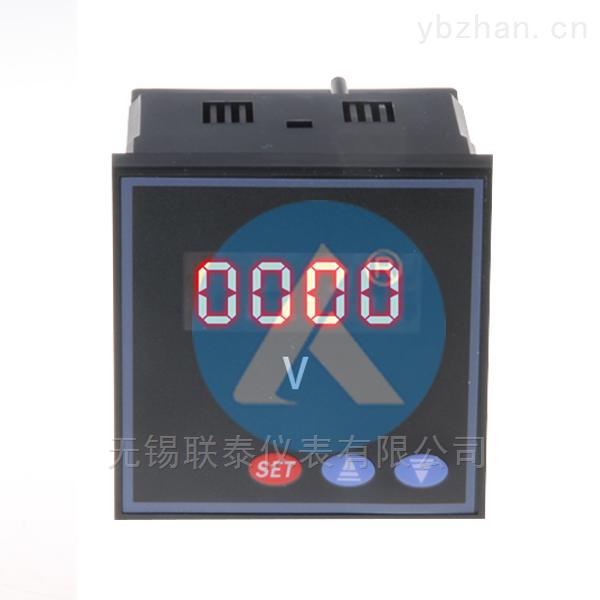 SX80J-ACV可編程數顯單相交流電壓表