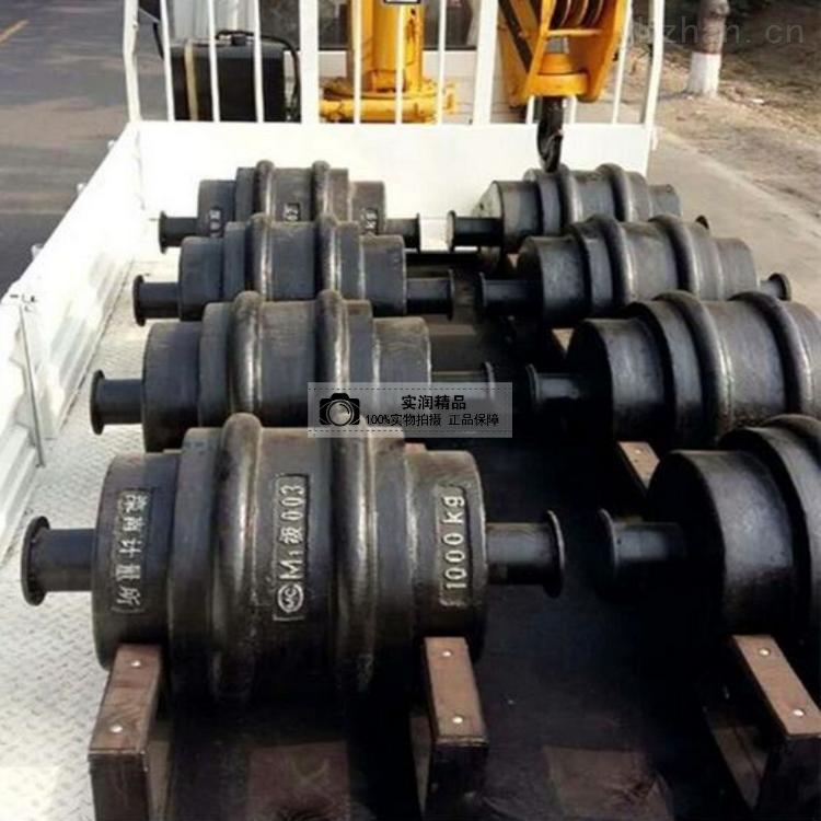 直销500公斤铸铁砝码 圆滚形砝码