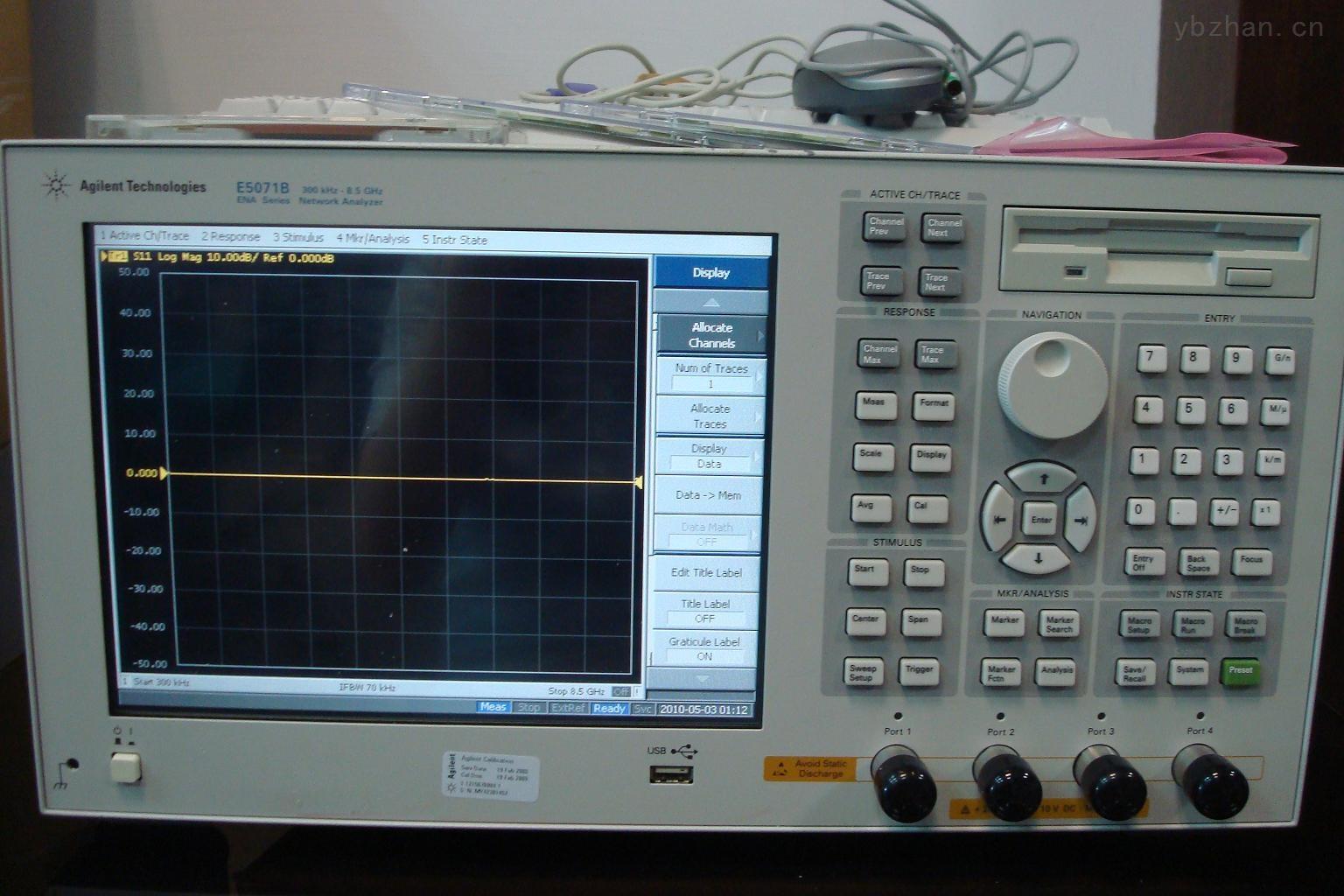 安捷伦Agilent E5071B ENA射频网络分析仪8.5 GHz网分