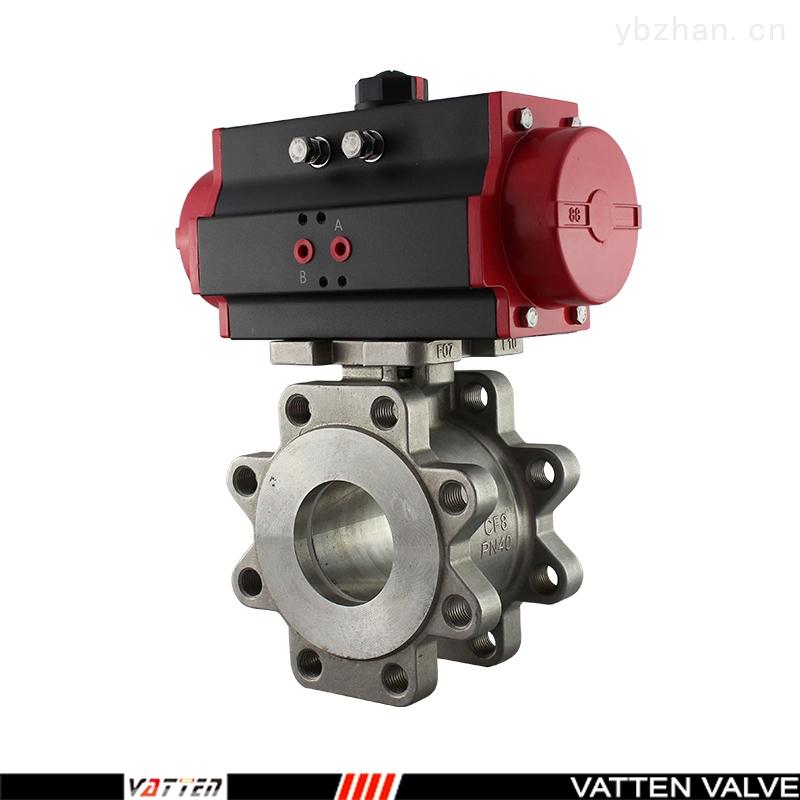 VT-过油漆气动薄型对夹式球阀