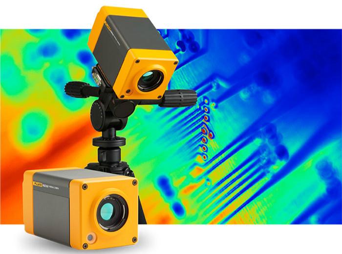 福禄克推出两款具有多种高级功能的在线式红外热像仪