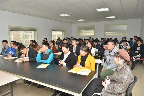 """齐鲁工业大学包装工程专业学生""""走进兰光""""参观学习"""