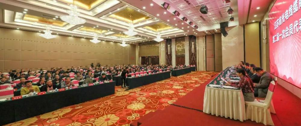 江蘇光電線纜商會第二屆一次會員代表大會召開