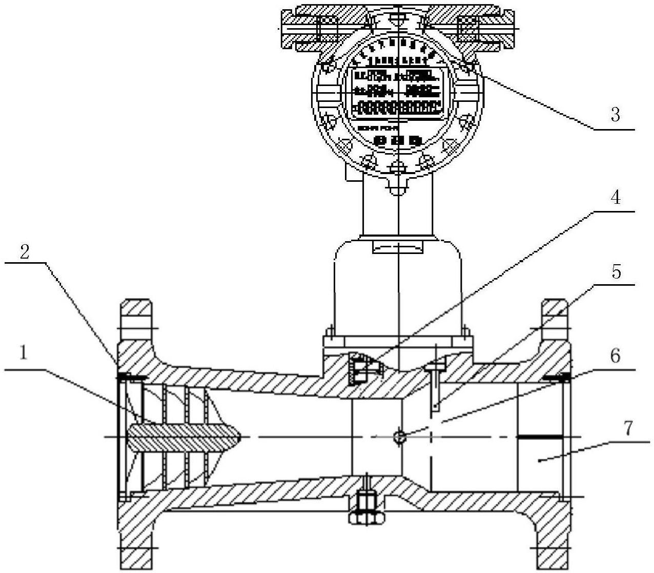 【北京赛车新专利】一种气体流量计