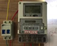 單項智能電表接線方法
