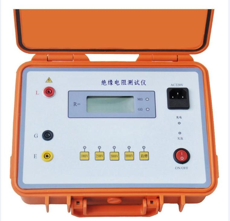 电子数字双显绝缘电阻测试仪