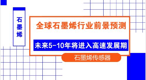 """未来5-10年石墨烯市场将进入高速发展期""""/"""