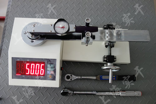 指针式扭力扳手测试仪图片