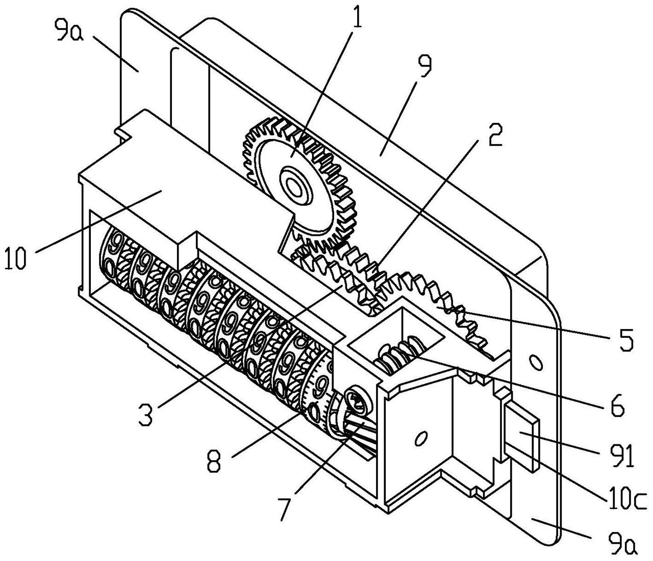 【仪表专利】计数准确且具有防拆结构的燃气表